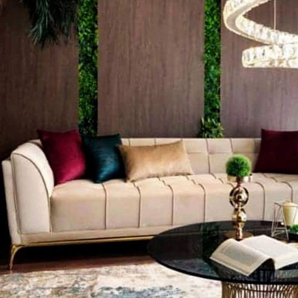 Modern Light Color Sofa